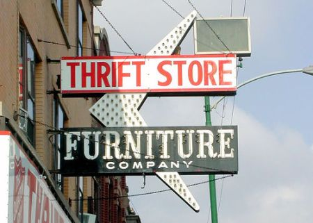 Thrift store image