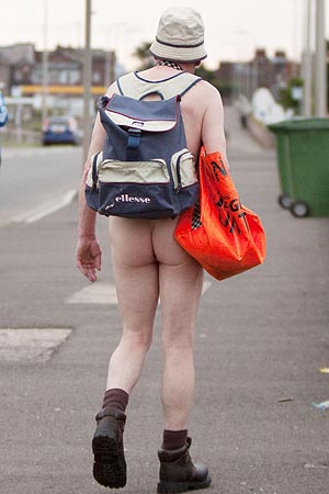 Why? Because this is the actual rear end of someone who exists in the world. Mull that over.