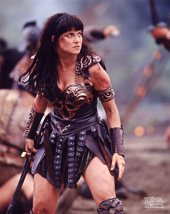 Xena Warrior Princess Costume replica